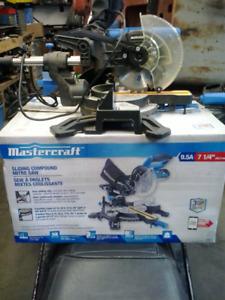 "Mastercraft Mitre saw-7 1/4"""