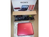 "Sony DVP-FX720 Portable DVD Player 7"" - USB - MP3 - Remote - Slight LCD Fault"