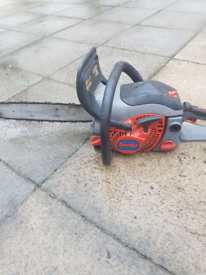 Chainsaws and strimmer