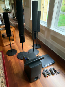 Sony 5.1 Surround Sound System with Tuner/Amp and Bass Woofer