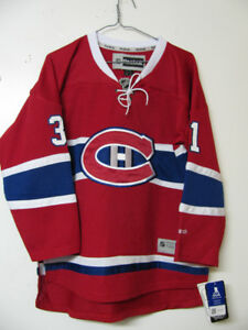 MONTREAL CANADIENS RED CAREY PRICE HOCKEY JERSEY NWT L/XL