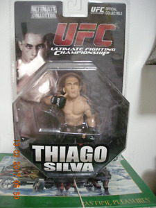 Thiago Silva UFC Official Collectable Figure New in Package