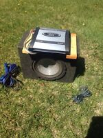 Amp sub and wiring kit $100!!