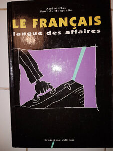 Le Français langue des affaires 3e ed