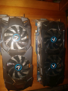 Dual Sapphire Vapor-X HD 7950 3G D5 crossfire video CARDS
