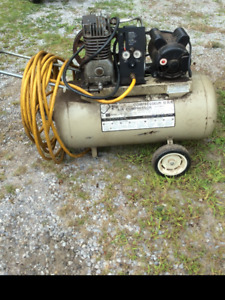 2 Cylinder 20 Gallon Compressor