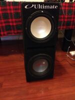 10' subs with box and amp