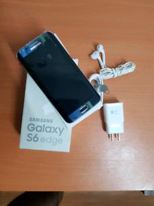 Unlocked Samsung Galaxy S6 Edge 64gb Mint Condition.