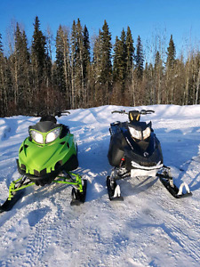 REDUCED!!2 Sleds For The Price Of A New One Plus Steel Deck!!