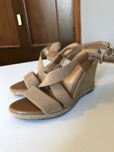 Banana Republic Wedge heels size 8.5