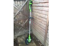 Greenworks 24v 12inch string trimmer.