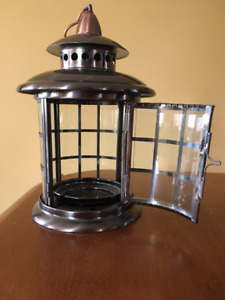 Brushed Stainless Lanterns