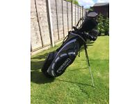 Full set of golf clubs with Trolly plus accessories, Job Lot!!