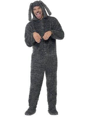 Kostüm Erwachsene Flauschig Hund Kostüm Tier 80er Jahre Spit von - Flauschigen Hunde Kostüm