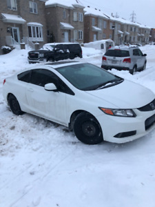 Honda Civic Coupe LX 2012