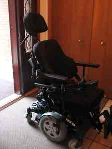 NEW INVACARE TDX SP POWER WHEELCHAIR-ALMOST NEW