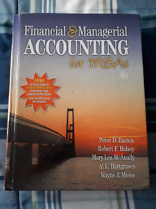 Financial and Managerial Accounting for MBAs (4th. Ed.)