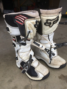 Mens size 10  Motorcross boots( FOX COMP5)