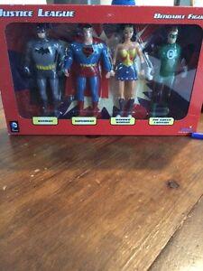 Figurines Justice league bendable figures
