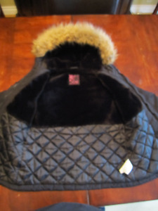 Warm ski jacket and boots take all for $30.00