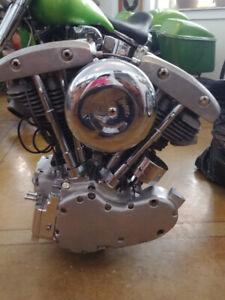 HARLEY DAVIDSON MOTOR-RARE-1963 PAN HEAD