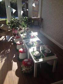 Fairytale party hire