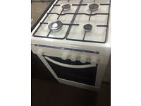 White bush 50cm gas cooker grill & oven good condition with guarantee bargain