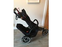 Phil and Ted's Navigator v2 stroller with double kit and extras