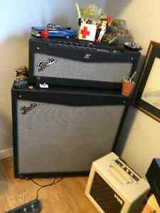 Fender Mustang V Head and Cab for sale