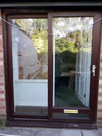 Upvc patio sliding doors