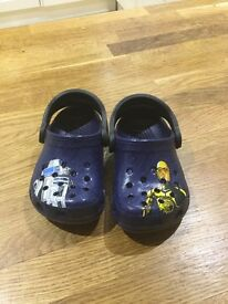 BRAND NEW KIDS Star Wars Crocs - ONLY £5