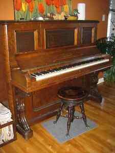 Piano droit D. W. Karn à donner