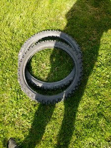 Tires off crf150f