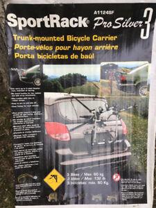 SportRack ProSilver 3 Trunk Mount Bike Carrier