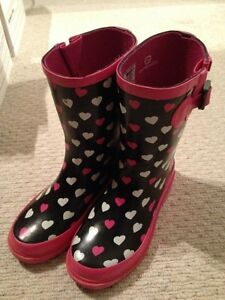 Girls Size 3 Rubber boots