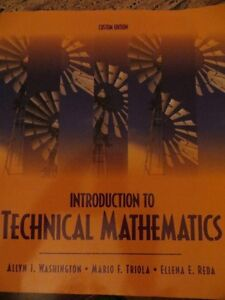 Textbook Introduction to Technical Mathematics 9780558380694