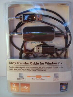 Belkin Easy Transfer Cable for Windows 7 F5U279 - Windows XP or Vista to Win