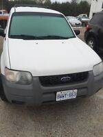 Ford Escape XLS Safetied & Etested Winter Tires!!