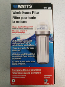 Watts Whole House Water Filter