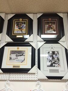 NHL signed and framed 8 by 10 pictures