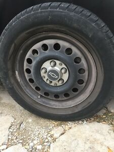 RS Goodyear Eagle tires and rims