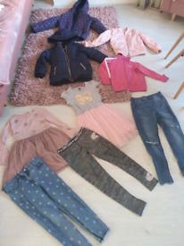 Girls clothes bundle 6-8
