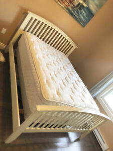Double Mattress and Queen Frame