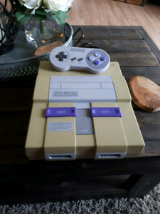 First generation SNES
