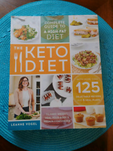 The keto diet book $25