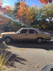 Classic 1983 Mercedes 300SD - TURBO DIESEL