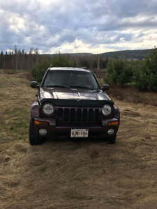 2004 jeep liberty 3.7l limited edition for sale or trade