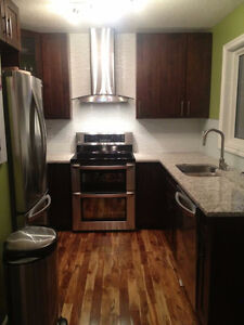 3 Bedroom Renovated Townhouse with A/C