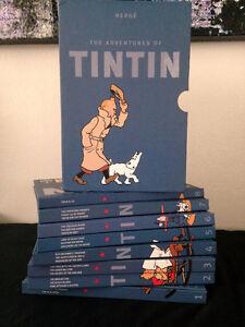 TinTin collector's set, New, great condition