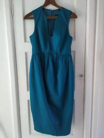 Asos UK 10 turquoise summer dress New